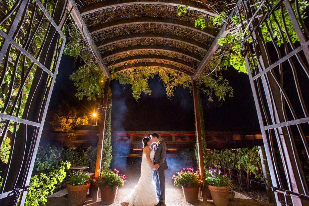Josie & Jared's Exquisite Garden Wedding at Tra Vigne